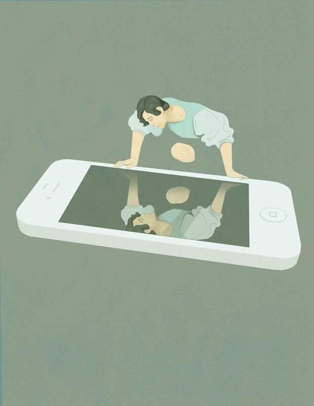 Все странности современной жизни в очень выразительных картинках