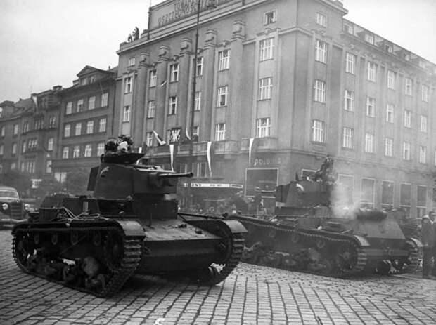 Польская оккупация Чехословакии. 1938 год.