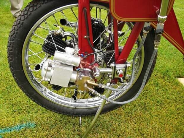 Megola. Легендарный мотоцикл с мотором в переднем колесе