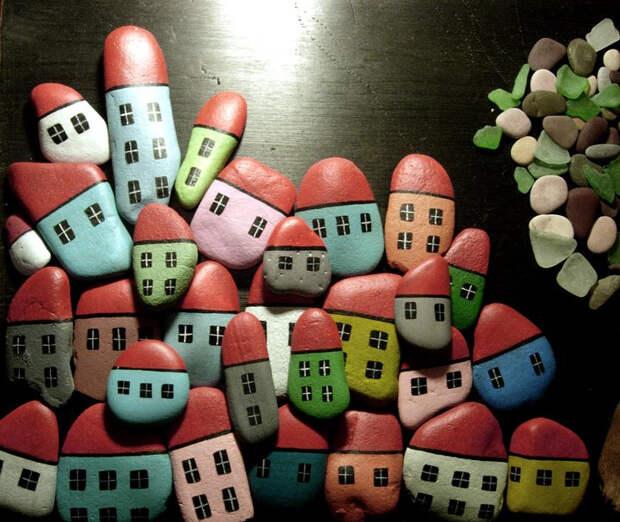 домики из камней 9