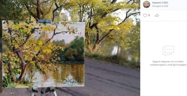 Фото дня: живописная осень в Куркине