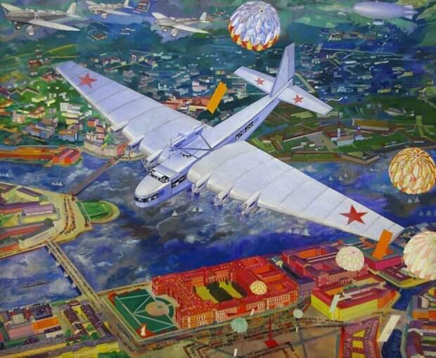 Нарисованный Петербург город, живопись, искусство, картины, питер, санкт-петербург, художник, эстетика