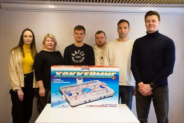 Хоккеисты нижегородского «Торпедо» встретились с ребятами из «Хулиганодома»