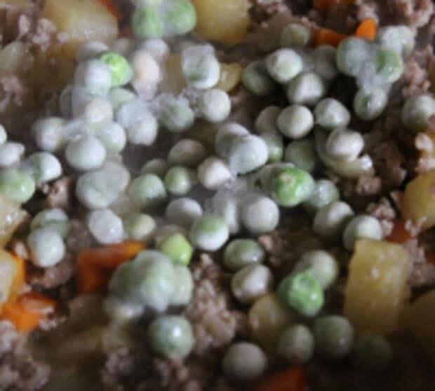 Рис с овощами и мясным фаршем