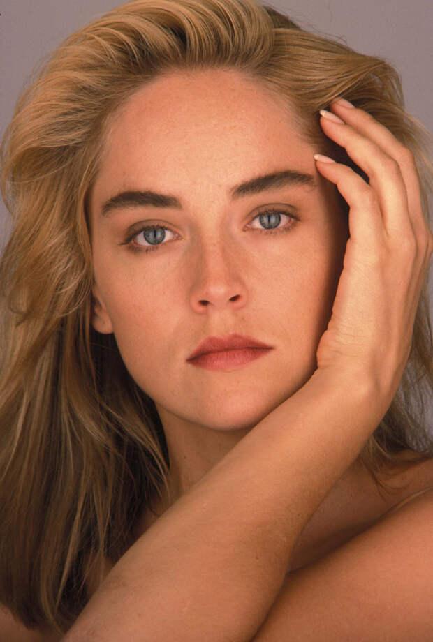 Шэрон Стоун (Sharon Stone) в фотосессии Яна Майлза (Ian Miles) (1990), фото 9