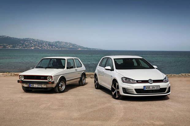 20. VW Golf авто, история