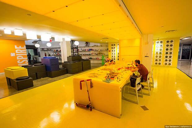 Офис Google в Нью-Йорке: работа мечты