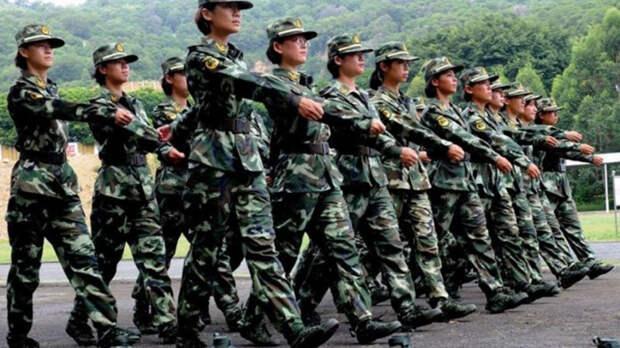 Китайский спецназ. Великий Дракон имеет только один отряд специального назначения, в котором нет бойцов мужского пола. Его база находится в Гонконге, а всего подразделение насчитывает две сотни солдат.