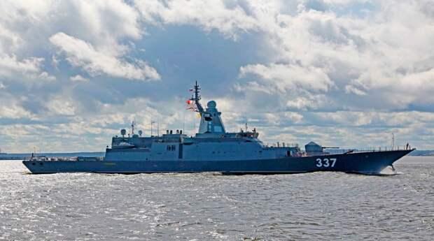 Корвет «Гремящий» завершил государственные испытания и будет передан в состав ВМФ