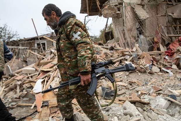 Война в Карабахе. Видео. 06.11.2020
