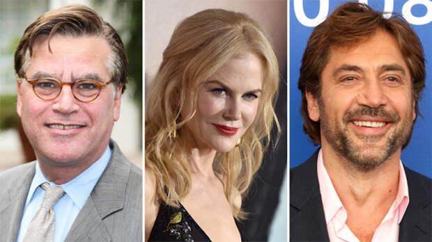 Аарон Соркин надеется привлечь в свой новый фильм Николь Кидман и Хавьера Бардема
