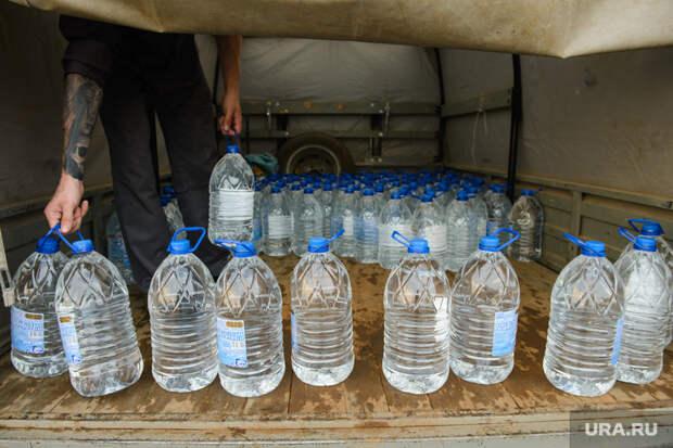 Последствия аварии на русле реки Калья. Североуральск, водоснабжение, вода в бутылках
