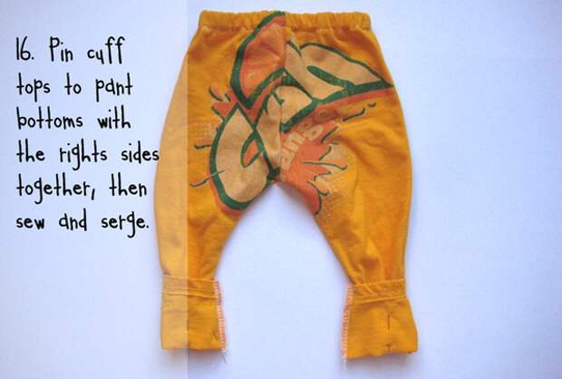 штанишки из футболки 1