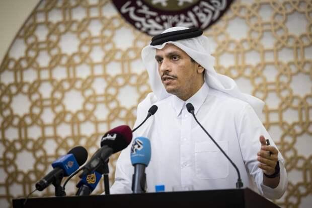 Катар исключил нормализацию отношений с Израилем