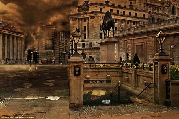 Эмоциональные иллюстрации, на которых конец света уже наступил
