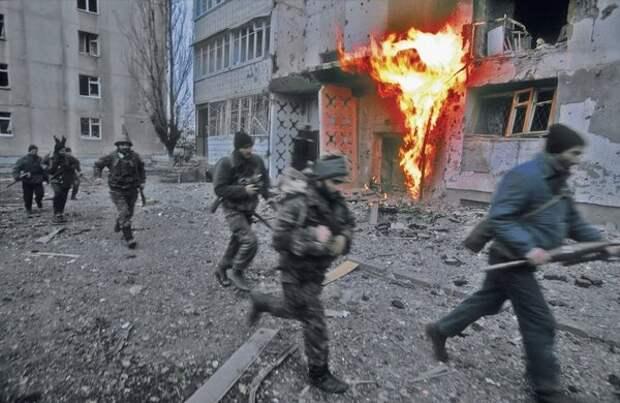 Сны ветеранов чеченской кампании..