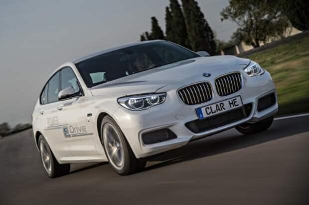 Прототип BMW GT 5-й серии eDrive