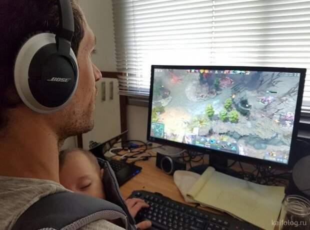 Приколы про геймеров (35 фото)