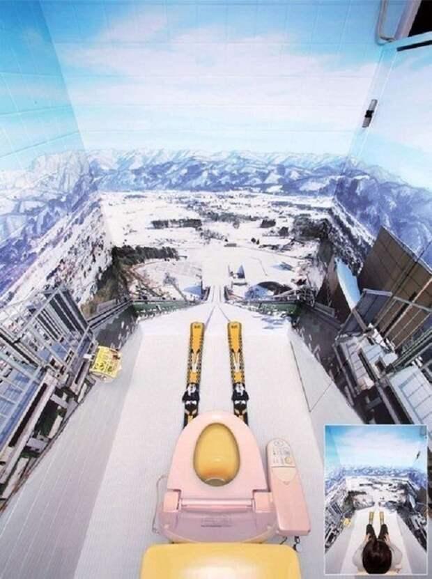 15 креативных идей по оформлению крошечного туалета