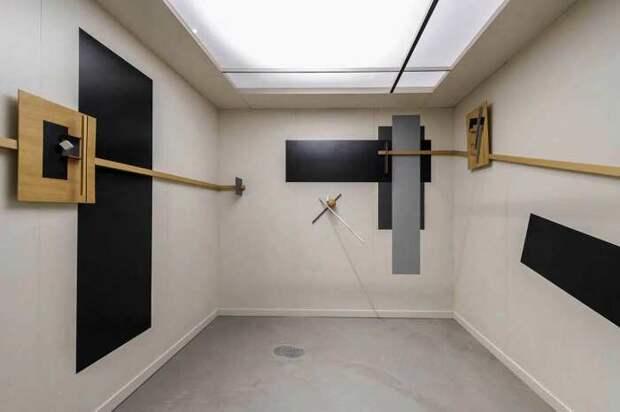 Proun Room Эль Лисицкого, 1923 год (реконструкция 1971), Лондон. \ Фото: oa.upm.es.