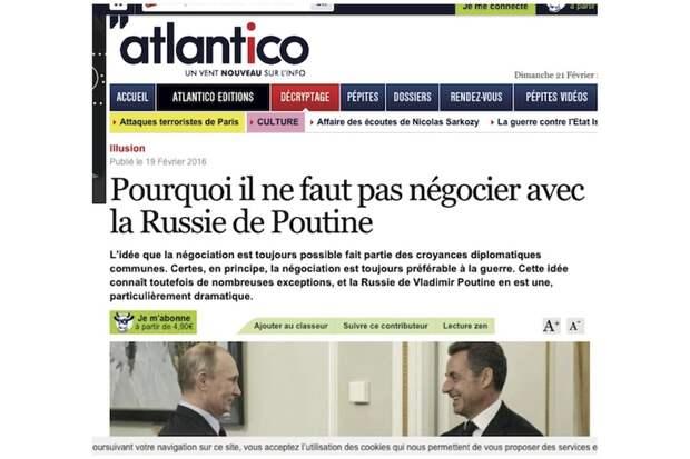 """""""С Россией Путина надо воевать, а не договариваться"""""""
