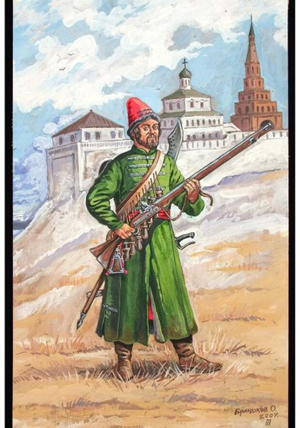 Участие стрелецкого войска в присоединении Астраханского ханства к Московскому государству