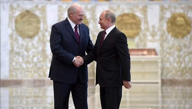 Лукашенко иПутин провели телефонный разговор