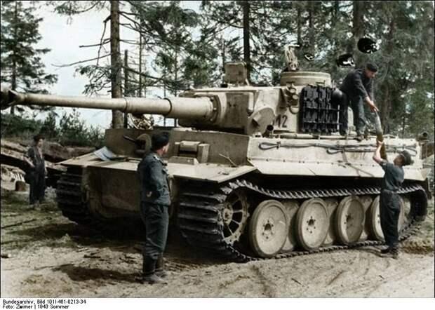 Танки ИС-2 и Tiger. Война на бумаге и в реальности