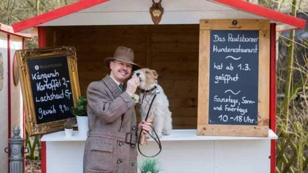 Ресторан для собак-гурманов открыли в Берлине