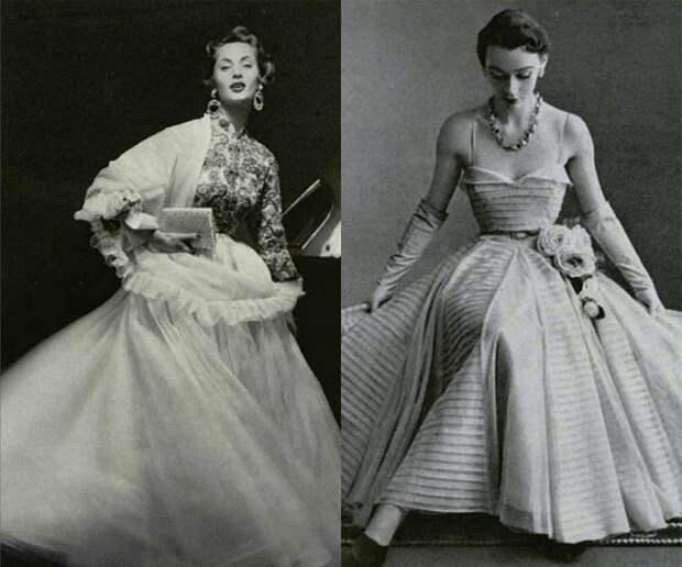 Бальные платья от Жака Гриффа.