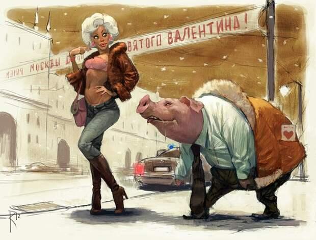 Русский цифровой арт