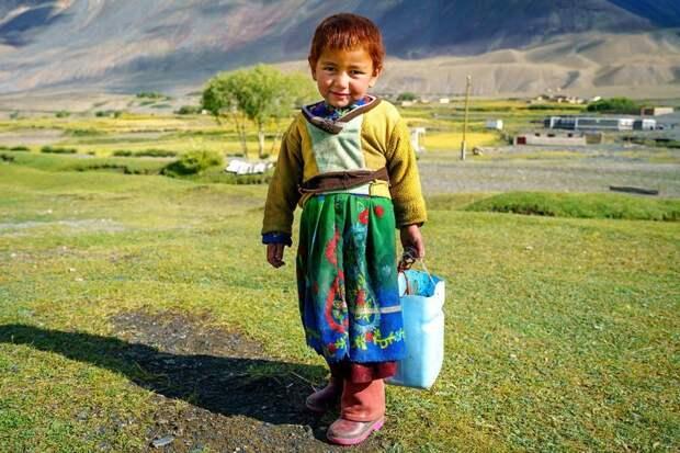 Девочка из Сархада Ваханский коридор, афганистан, вид, горы, природа, путешествие, фотомир
