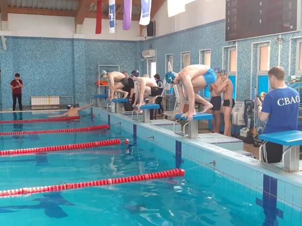 Пловцы из Отрадного завоевали «серебро» на окружной спартакиаде