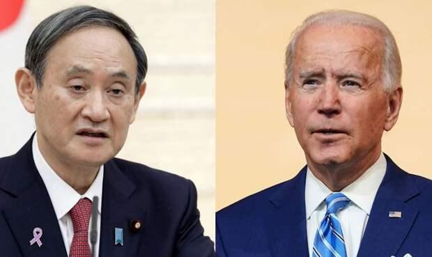 Японский премьер надеется на помощь Байдена в вопросе о Курилах