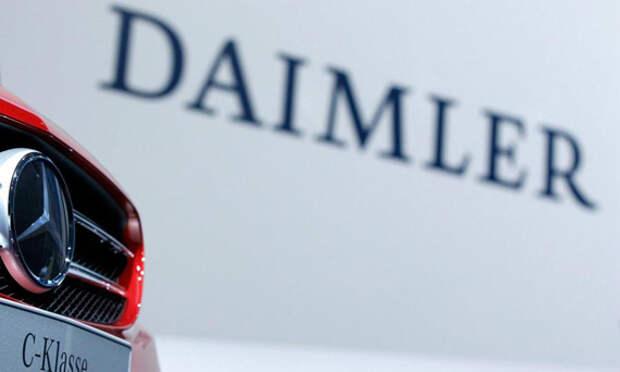 Daimler отвергает возможность манипуляции данными по выбросам