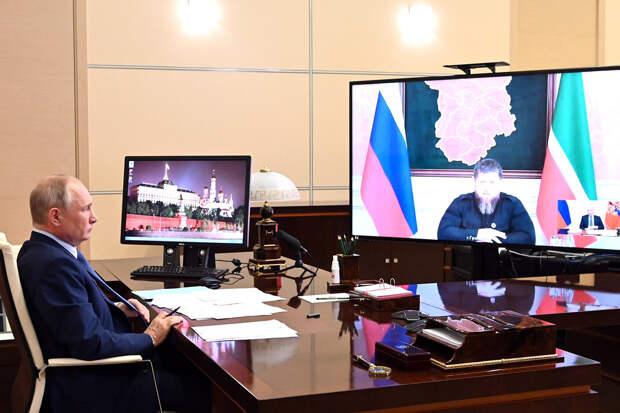 Путин предложил Кадырову снова пойти на выборы главы Чечни