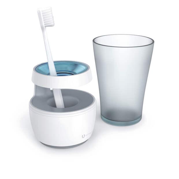 Держим зубную щетку в чистоте