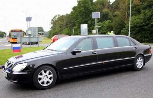 8. Mercedes S-Class Limousine лимузин, правительственный автомобиль