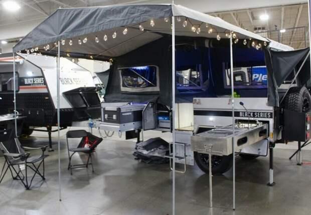 Караваны австралийской компании Black Series авто, дома на колесах, кемпинг, отдых, прицепы, трейлер, трейлеры, фото