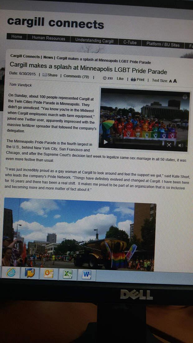 Россиянина уволили из американской фирмы за комментарий о гей-параде