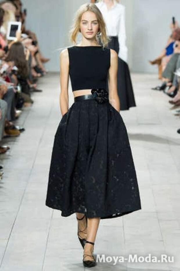Модные юбки весна-лето 2015 Michael Kors