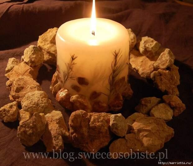 цветочные свечи ручной работы (32) (700x603, 214Kb)