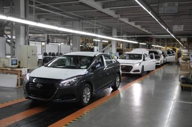 Производственная линия по выпуск Hyundai i40 в Калининграде