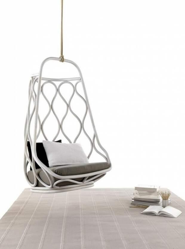 Креативное подвесное кресло фото