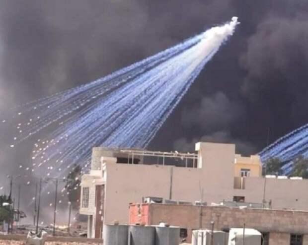 «НАТО и Россия выжигают Сирию белым фосфором»