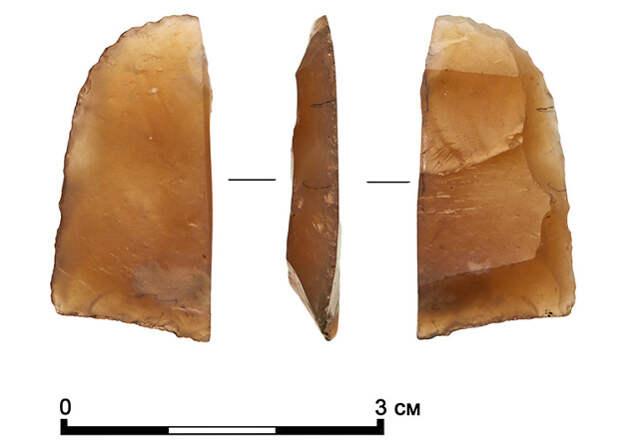 В Москве обнаружены артефакты каменного века