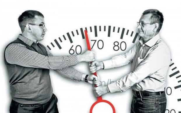 Штрафы за превышение скорости на 10-20 км/ч: допустимая погрешность