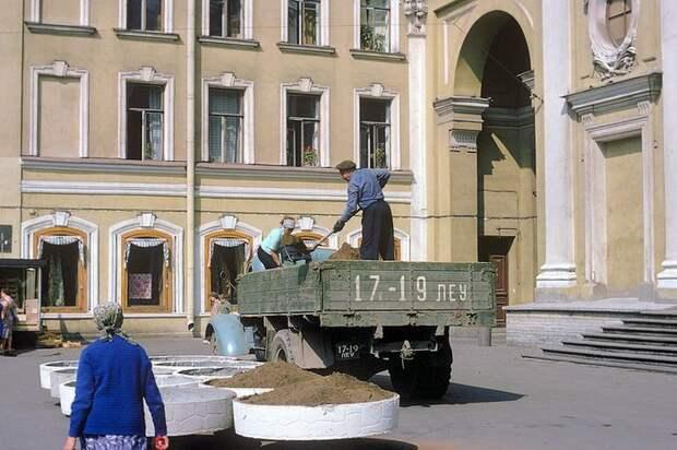 Москва и Ленинград в 70-е годы