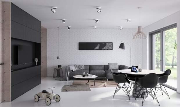 Дизайн гостиной минимализм: особенности, элементы, классические цветовые решения, идеальные комбинации и удобная мебель