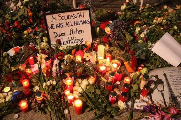 Теракт в Париже: реакция в мире